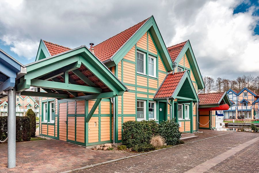 Ferienhaus im Hafendorf Rheinsberg - S 16 - 4 Sterne Haus
