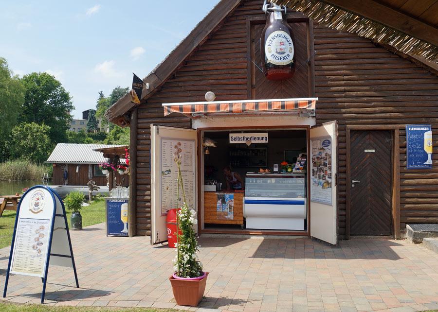 Fischerhütte Kiosk