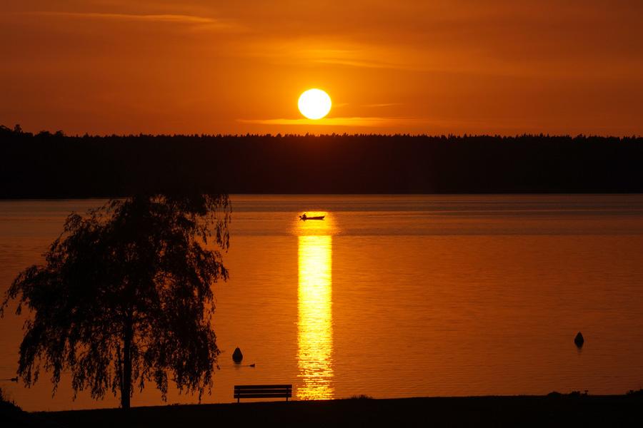Sonnenuntergang Rheinsberg