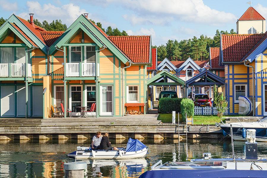 Ferienhaus Typ Kajüte (F) Doppelhaushälfte