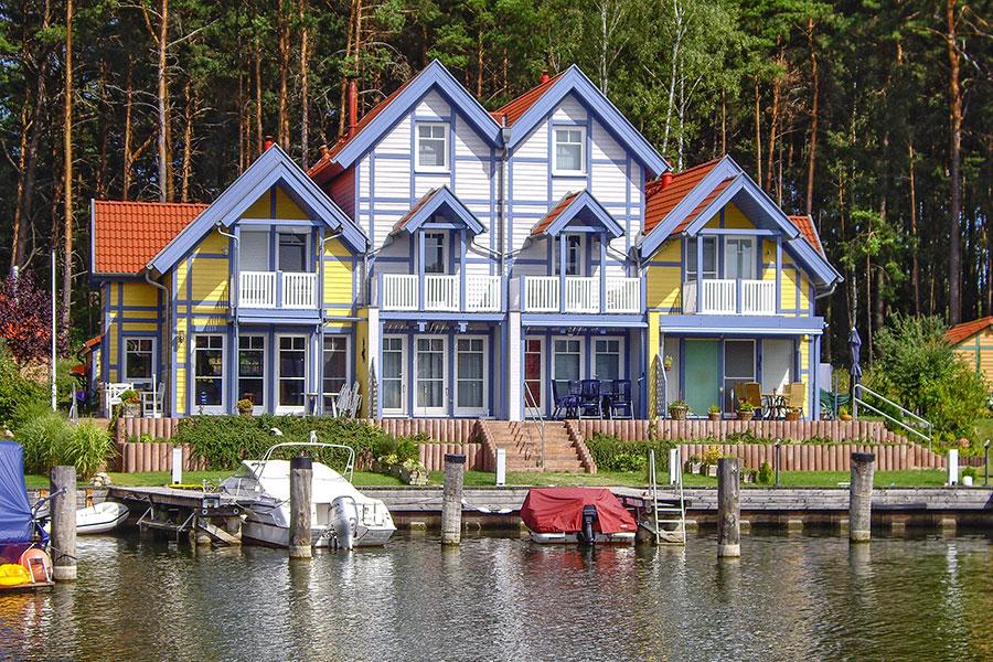 Häusergruppe G Uferstrasse