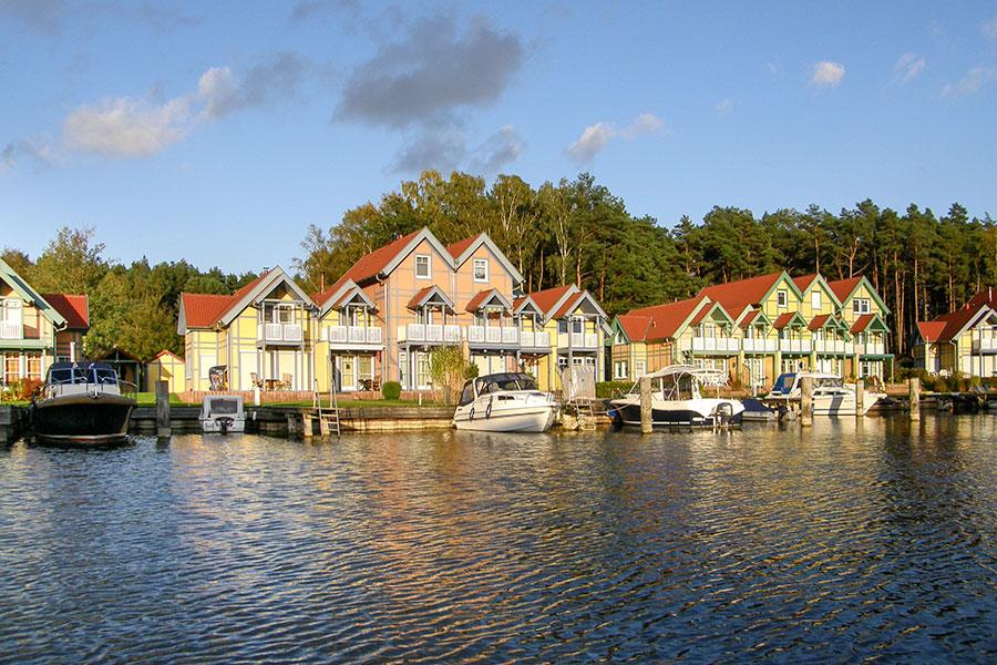 Häusergruppe I-J Uferstrasse