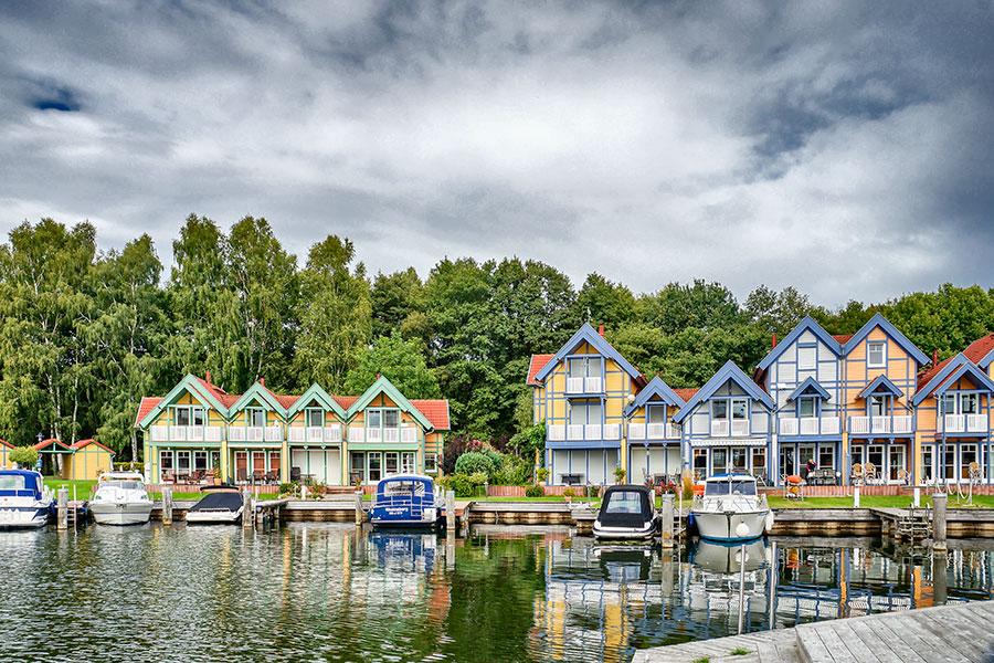 Häusergruppe K-L Uferstrasse