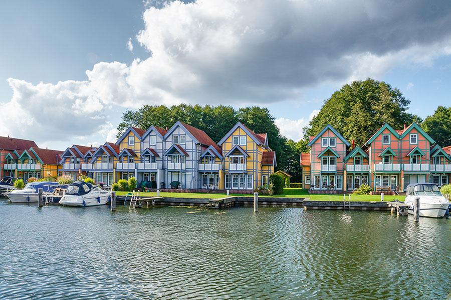 Häusergruppe N-O Uferstrasse