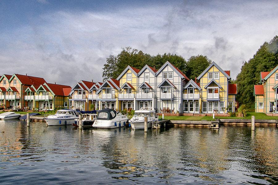 Häusergruppe O 02 Uferstrasse