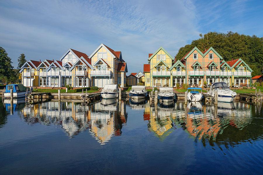 Häusergruppe P-Q Uferstrasse