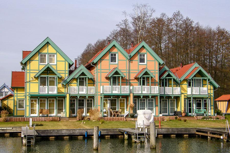 Häusergruppe P Uferstrasse