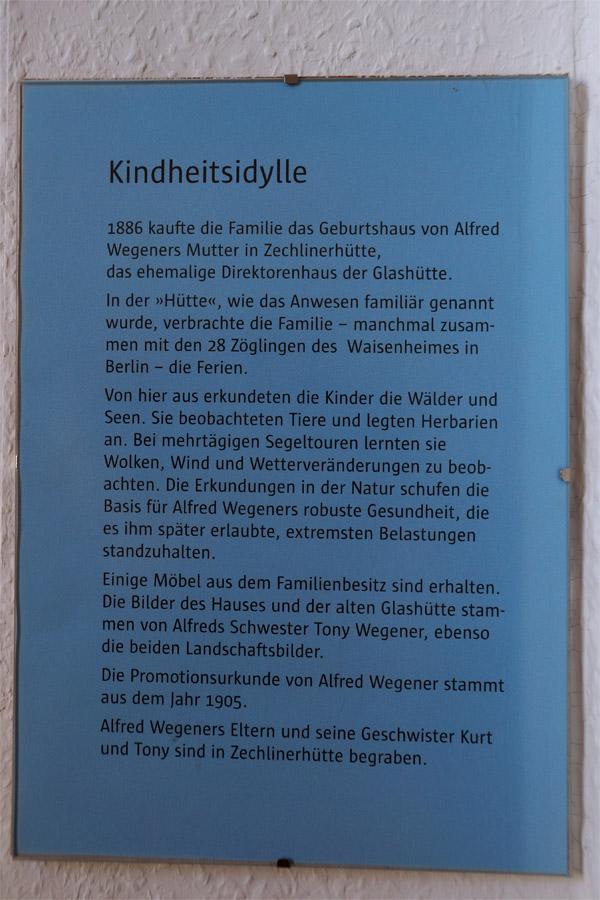 Geschichte Alfred Wegener