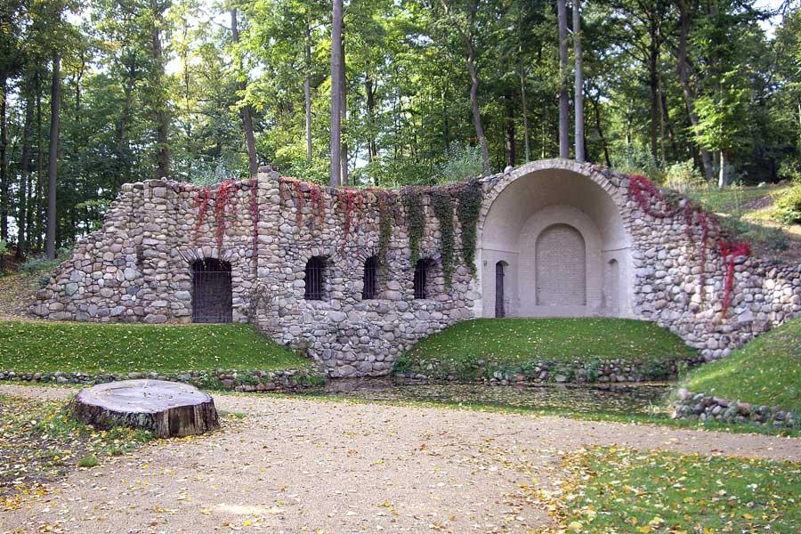 Egeria-Grotte im Schlosspark Rheinsberg