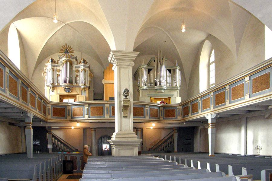 Orgel in der St. Laurentius Kirche in Rheinsberg