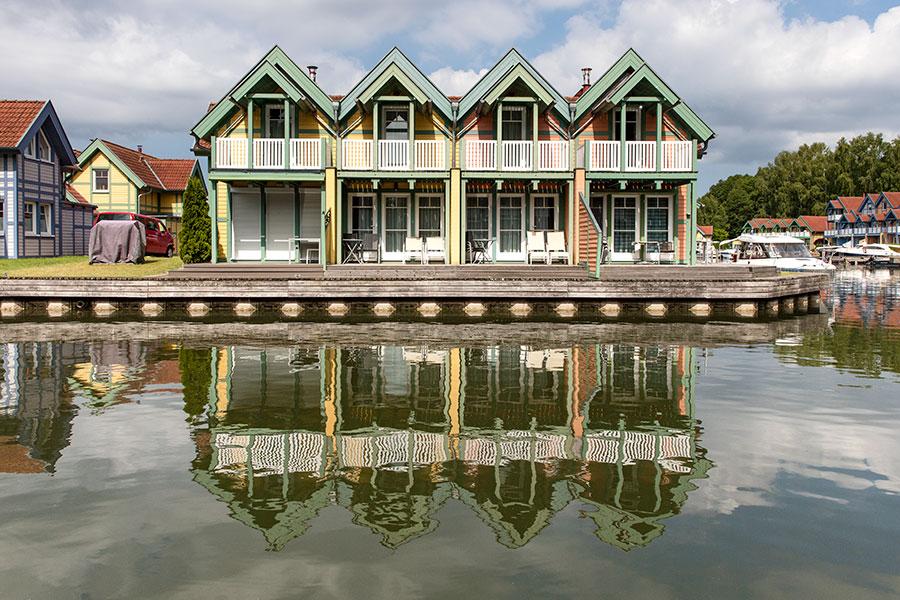 Häuser auf der R-Insel, R17 bis R21