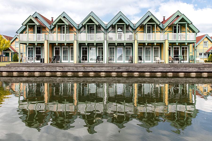 Häuser auf der R-Insel, R5 bis R10