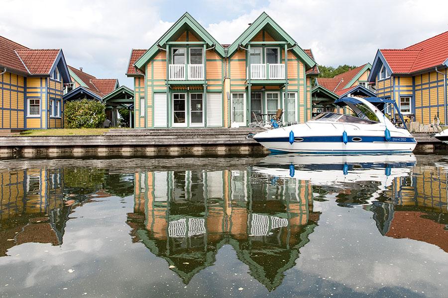 Doppelhaus auf der S-Insel, Haus S3 links im Bild